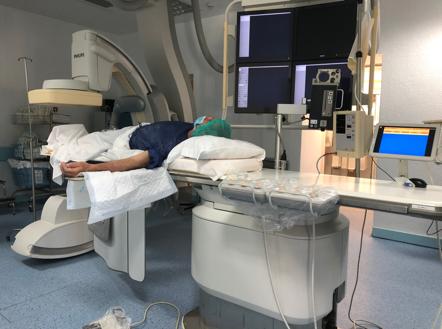 sala de tratamento de hiperplasia benigna da próstata